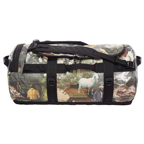 The North Face Base Camp Duffel M - Sepia Brown Hiker Print