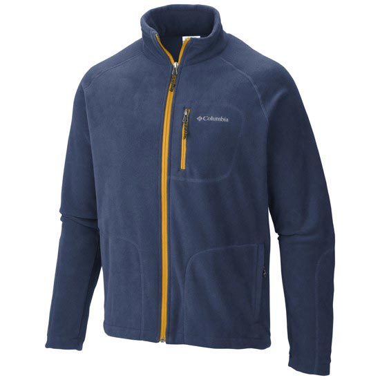Columbia Fast Trek II Full Zip Fleece - Night Tide/Stringer