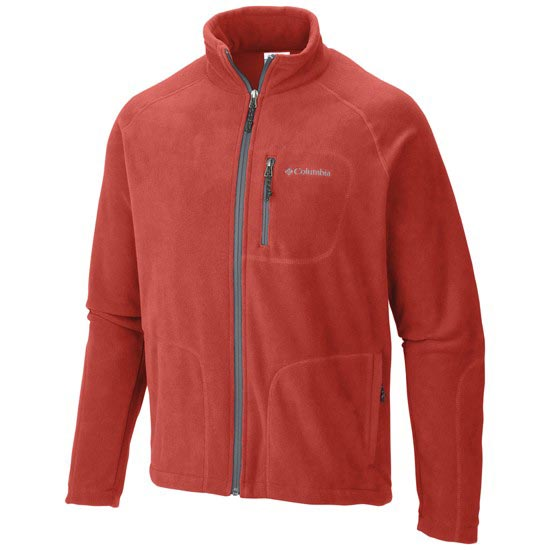 Columbia Fast Trek II Full Zip Fleece - Super Sonic/Grey Ash