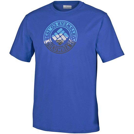 Columbia CSC Tried and True Short Sleeve Tee - Super Blue