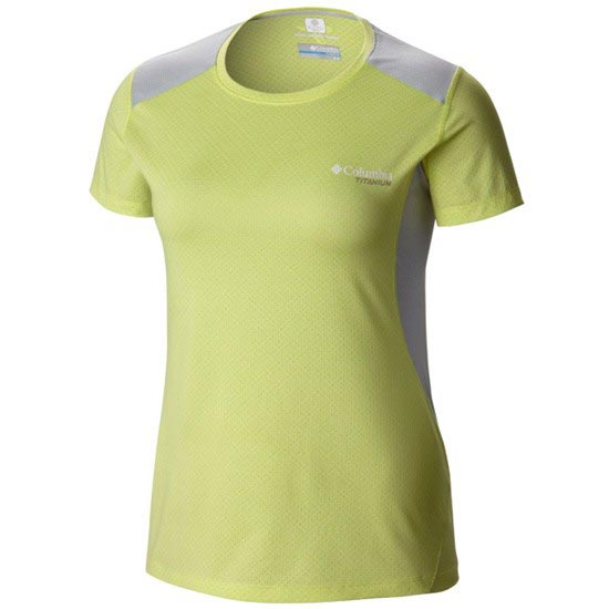 Columbia Titan Ice Shirt W - Neon Light Heather
