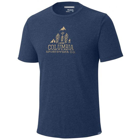 Columbia Trail Shaker SS Shirt - Blue