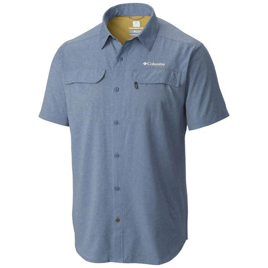Columbia Irico SS Shirt - Steel Heather