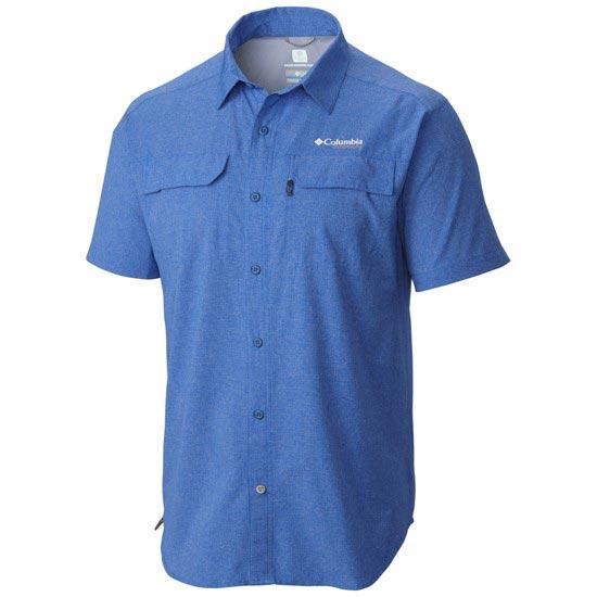 Columbia Irico SS Shirt - Super Blue Heather