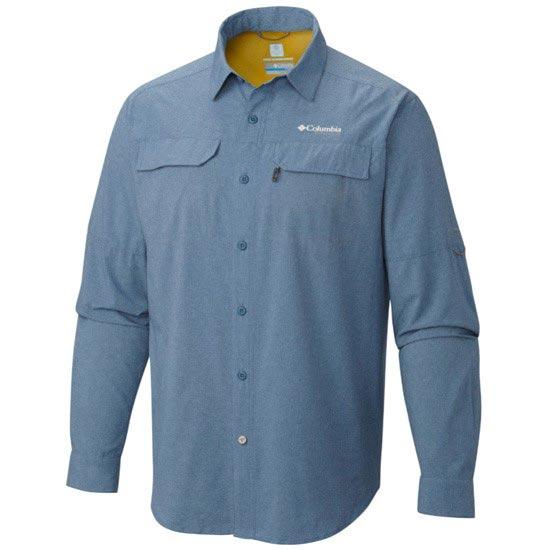 Columbia Irico Long Sleeve Shirt - Steel Heather