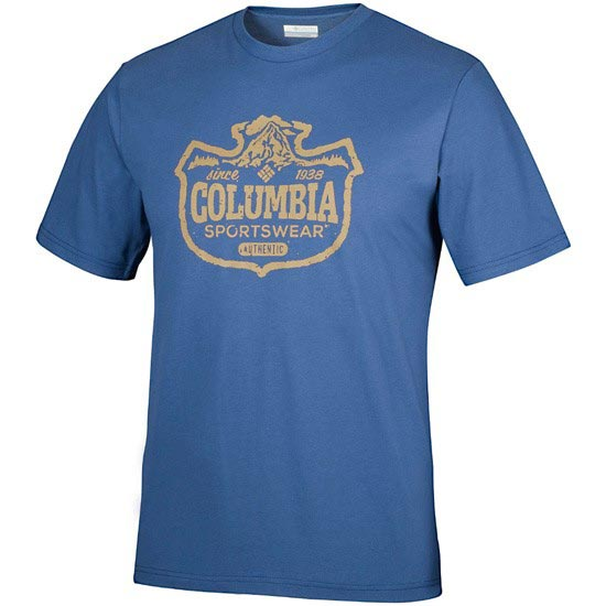 Columbia Csc Mountain Shield Tee - Night Tide