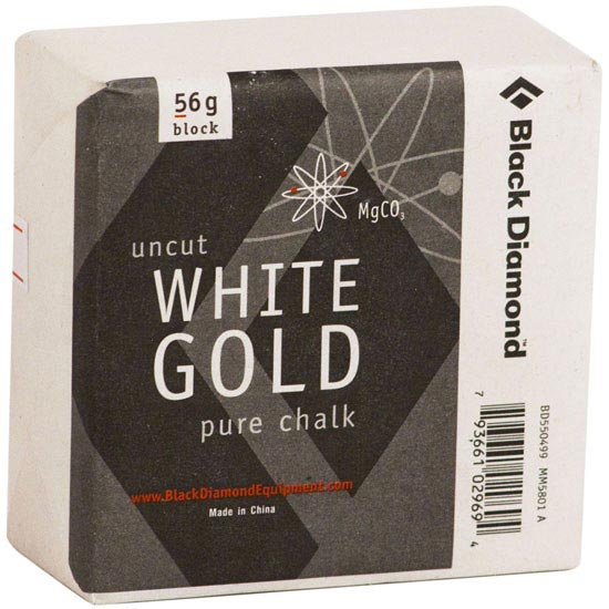 Black Diamond Solid White Gold Block -
