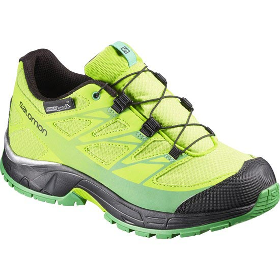 Salomon Wings CSWP Jr - Green/ Black