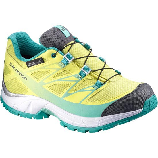 Salomon Wings CSWP Jr - Citrus/ White/ Teal Blue