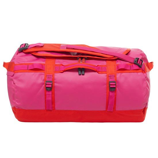 The North Face Base Camp Duffel S - Fuchsia Pink/Fiery Red
