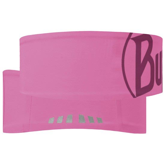 Buff Logo Headband - Pink Fluor
