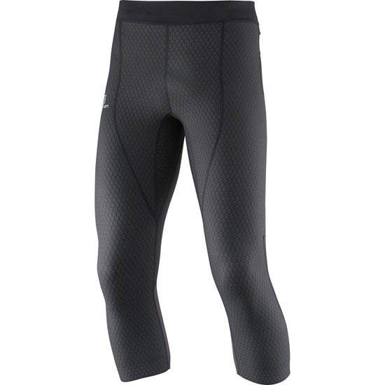 Salomon Exo Pro 3/4 Tight - Black/Black