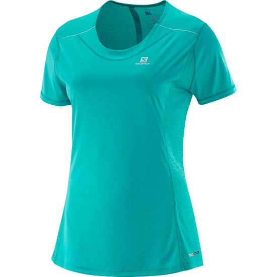 Salomon Agile SS Tee W - Teal Blue