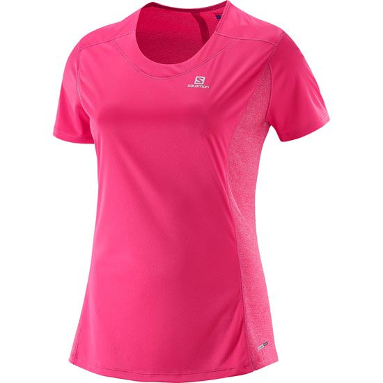 Salomon Agile SS Tee W - Hot Pink
