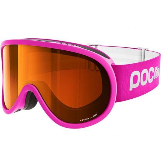 Poc Pocito Retina Sonar Orange S2 Kids - Fluorescent Pink