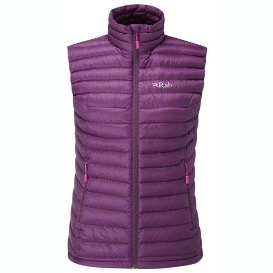 Rab Microlight Vest W - Berry