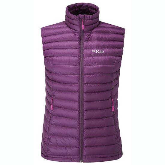 Rab Microlight Vest W - Berry