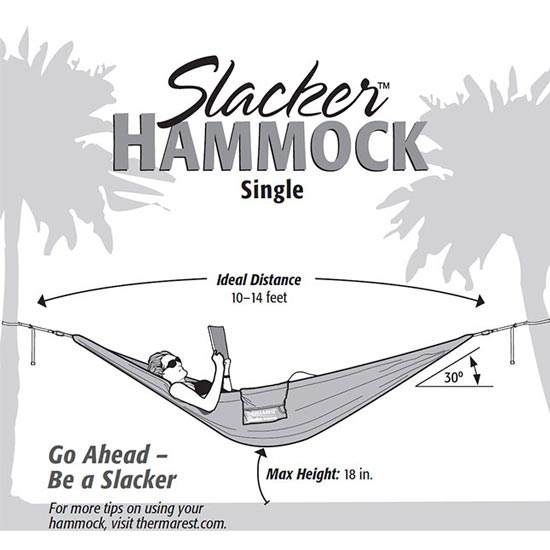 Therm-a-rest Slacker Hammock Single - Photo de détail