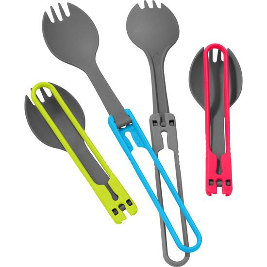 Msr Folding Spork Kit, 4pc -