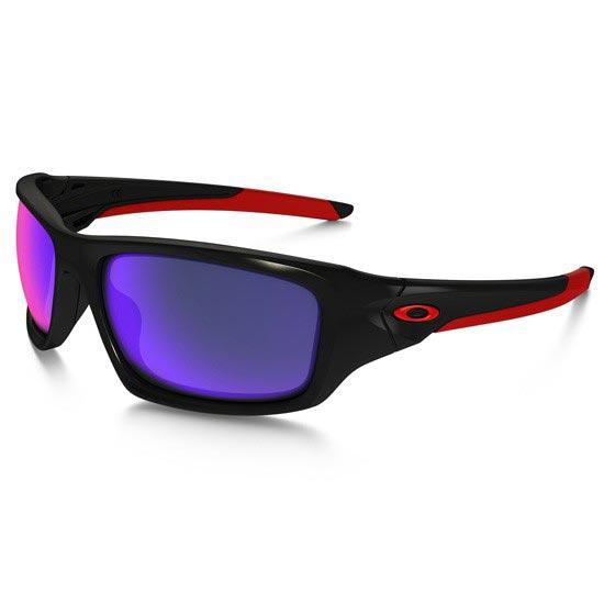 Oakley Valve - Polished  Black/Red Iridium