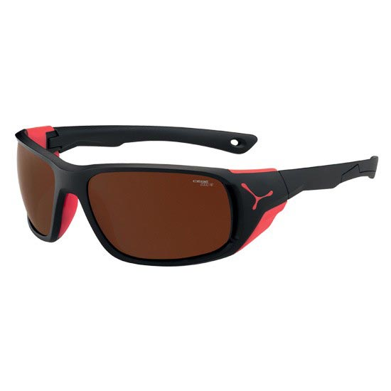 Cebe Jorasses L - Matt Black/Red