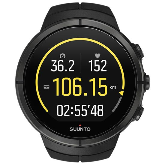 Suunto Spartan Ultra All Black Titanium HR - Photo of detail