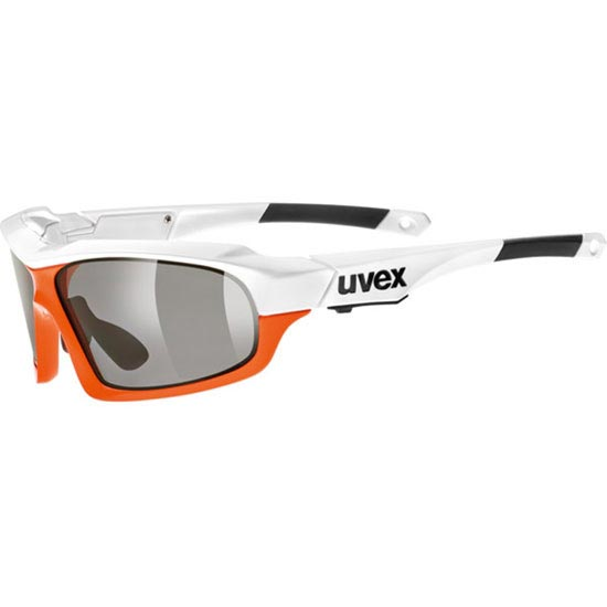 Uvex Variotronic FF S1-3 - White Orange/Smoke