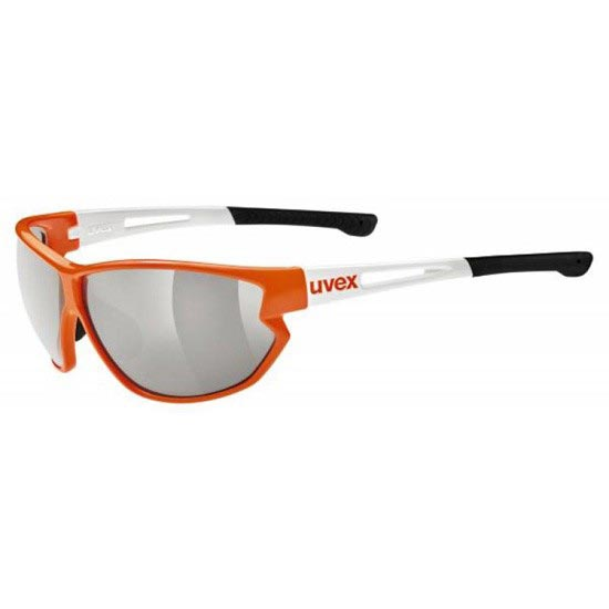 Uvex Sportstyle 810 Variomatic - Orange/White