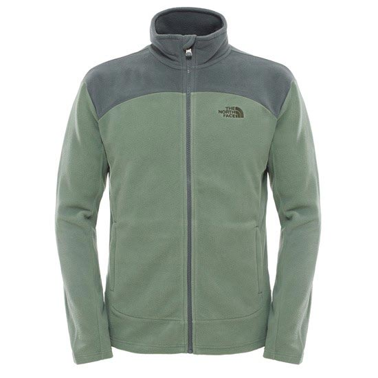 The North Face 100 Glacier Full Zip - Laurel Wreath Green/Spruce