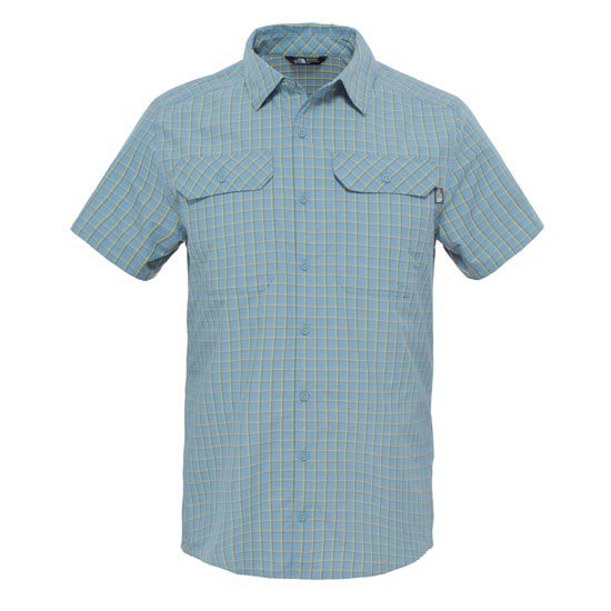 The North Face S/S Pine Knot Shirt - Moonlight Blue Plaid