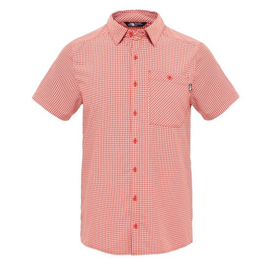 The North Face S/S Hypress Shirt - Pompeian Red Plaid