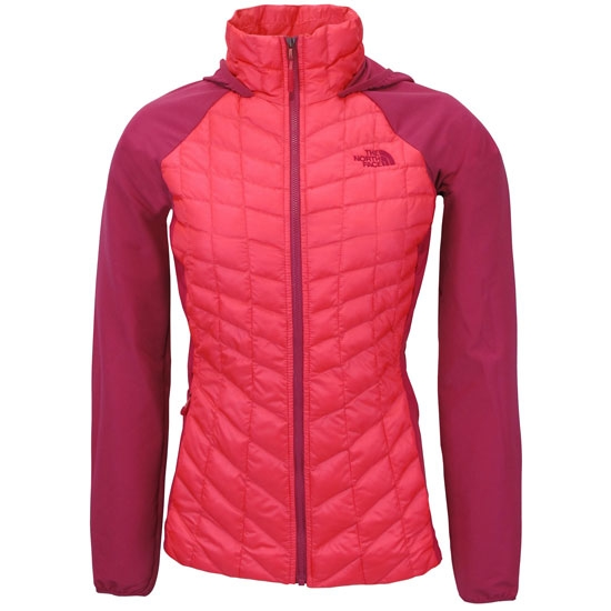The North Face Thermoball Hybrid Hoodie W - Glo Pink/Fuschia Pink