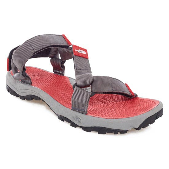 The North Face Litewave Sandal - Zinc Grey/TNF Red