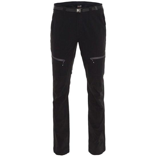 Ternua Pantalon High Points - Negro/Gris Oscuro