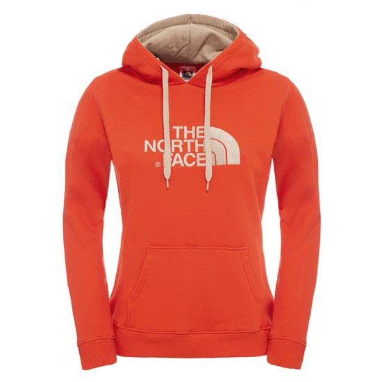The North Face Drew Peak Pullover Hoodie W - Fiery Red