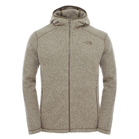 The North Face Gordon Lyons Lite Full Zip Hoodie - Mountain Moss Heather