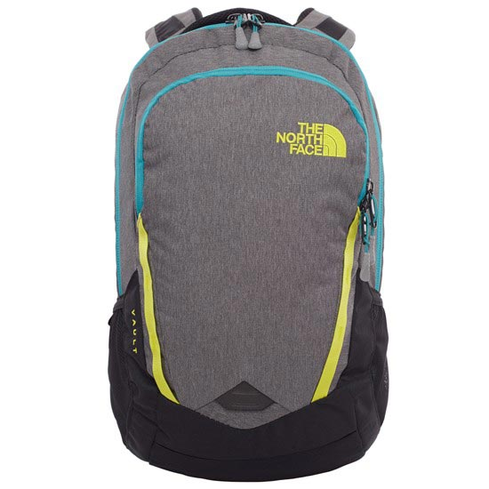 The North Face Vault - Zinc Grey Heather/Sulphur Spring Green