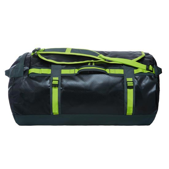 The North Face Base Camp Duffel L - TNF Black/Spruce Green