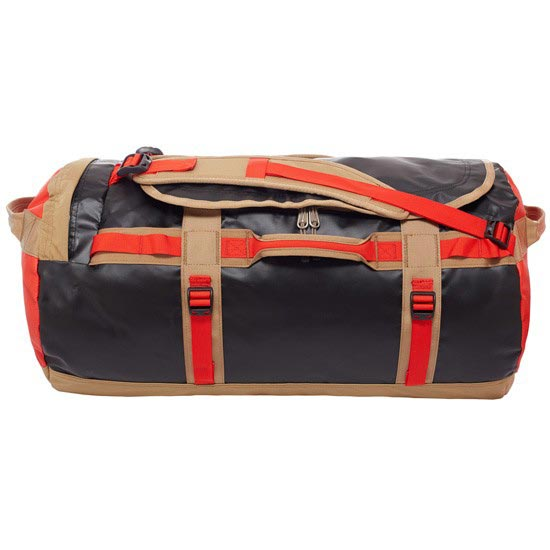 The North Face Base Camp Duffel M - Fiery Red/TNF Black