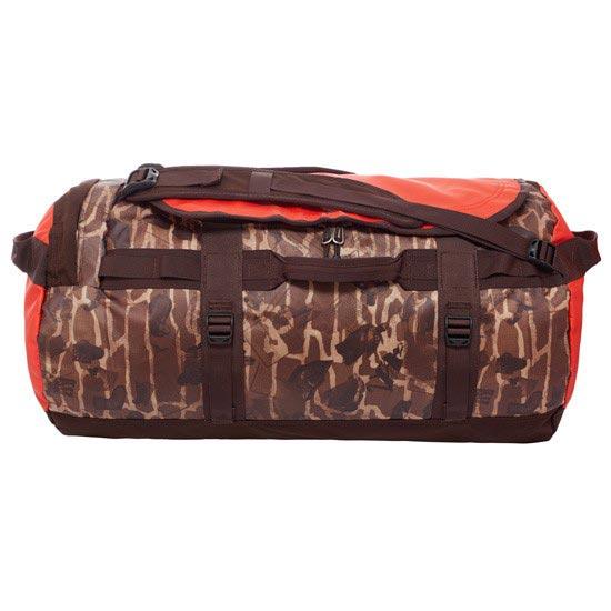 The North Face Base Camp Duffel M - Brunette Brown Catalog Print