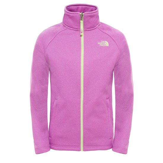 The North Face Canyonlands Full Zip Jacket Enfant - Sweet Violet Heather