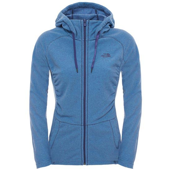 The North Face Mezzaluna Full Zip Hoodie W - Patriot Blue Stripe