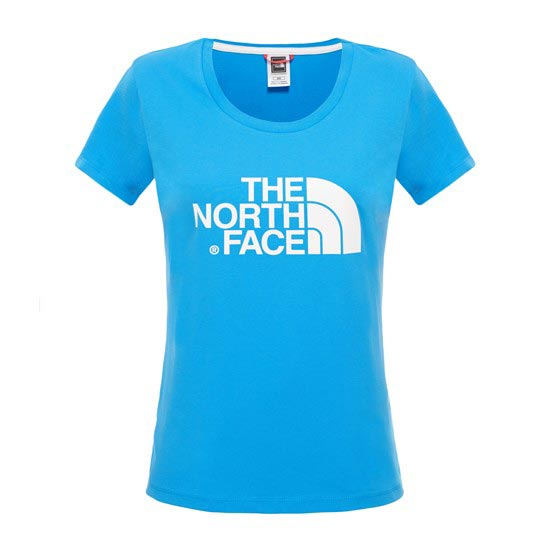 The North Face S/S Easy Tee W - Clear Lake Blue