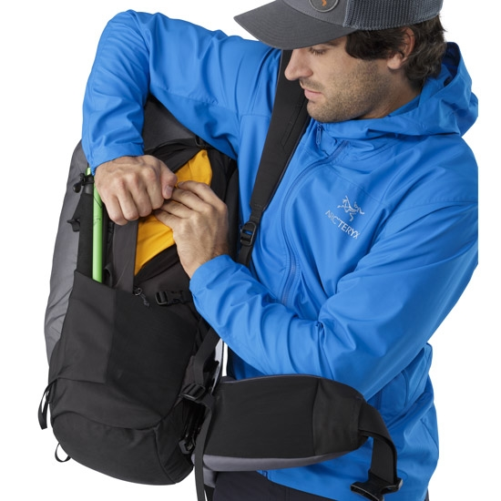 Arc'teryx BORA AR 63 M REG Titanium - Photo de détail
