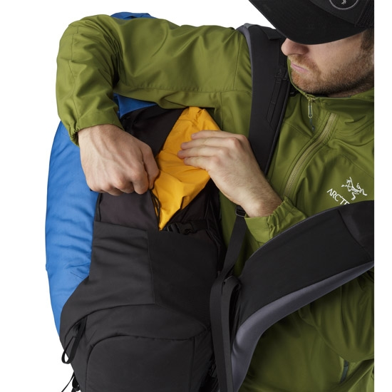Arc'teryx Bora AR 50 - Photo of detail