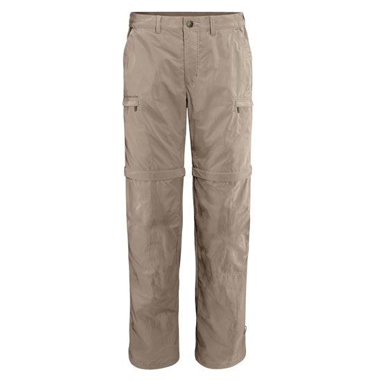 Vaude Farley Zo Pants IV - Muddy