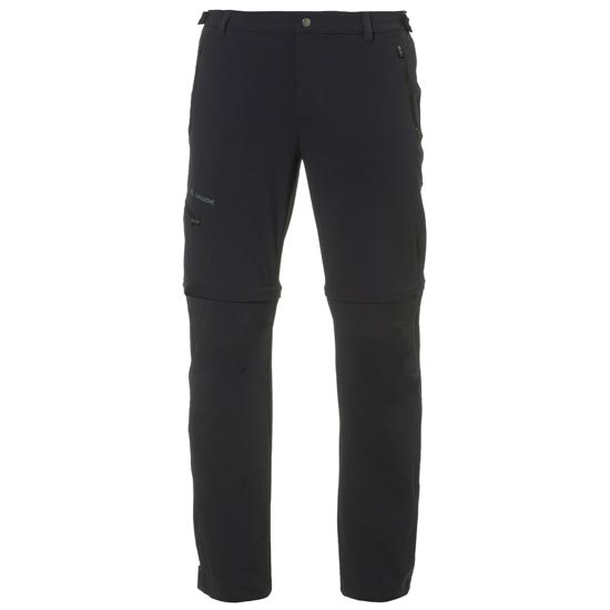 Vaude Farley Stretch T-Zip Pants II - Black