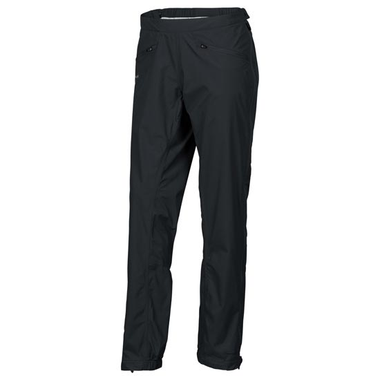 Vaude Lierne Full-Zip Pants - Black