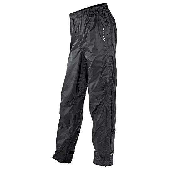 Vaude Fluid Full-Zip Pants II - Black
