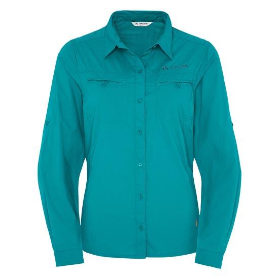 Vaude Farley Ls Shirt W - Reef